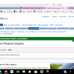 Green finance home page