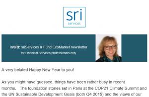 inSRI newsletter